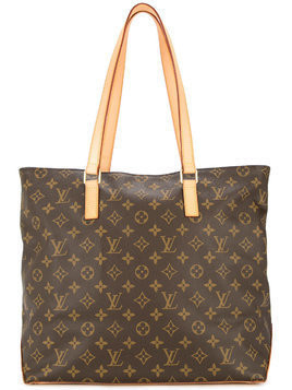 Louis Vuitton Vintage Cabas Mezzo monogram tote bag - Brown