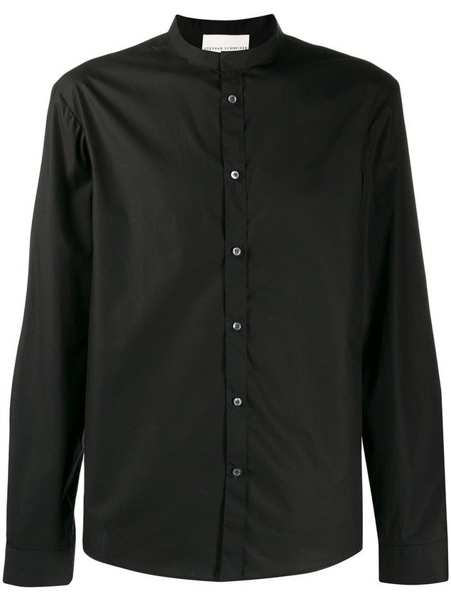 Stephan Schneider button down shirt - Black