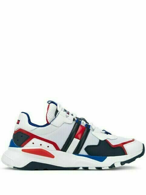 Tommy Hilfiger chunky sole lace-up sneakers - White