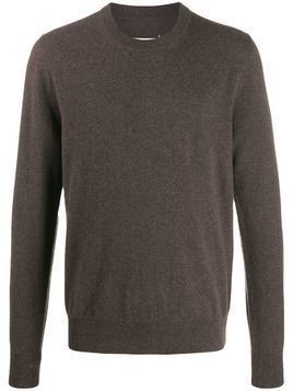 Maison Margiela knitted jumper - Brown