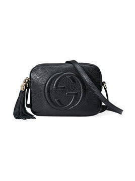 Gucci - Soho leather disco bag - Damen - Leather/Cotton - One Size - Black