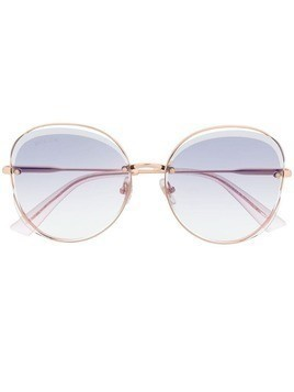 Bolon oversized frame sunglasses - Pink