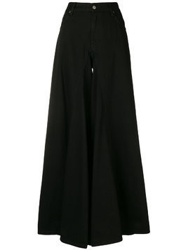 Mm6 Maison Margiela wide-leg trousers - Black