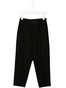 Diesel Kids slim-fit tailored trousers - Black