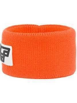 Prada logo patch headband - Yellow