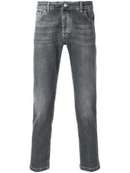 Entre Amis cropped style jeans - Grey