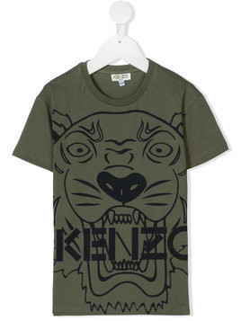 Kenzo Kids Tiger print T-shirt - Green