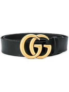 Gucci Double G buckle belt - Black