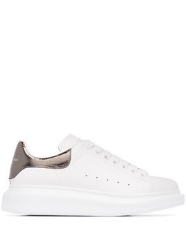 Alexander McQueen oversized low top sneakers - White