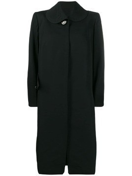 A.N.G.E.L.O. Vintage Cult 1950's club collar midi coat - Black