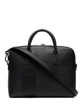 Hugo Hugo Boss Gallery pebbled briefcase - Black