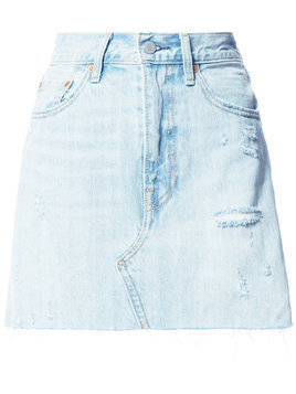 Levi's straight denim skirt - Blue