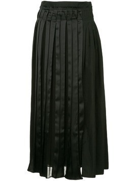 3.1 Phillip Lim layered pleated skirt - Black