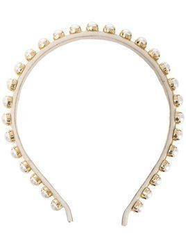 Ca&Lou Clotilde pearl embellished hair band - GOLD