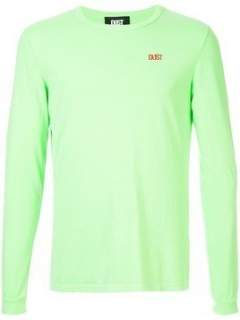 DUST logo embroidered top - Green
