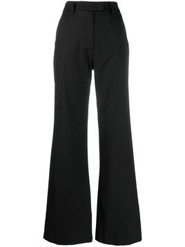 House of Holland wide-leg tailored trousers - Black