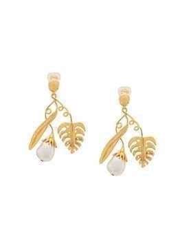 Aurelie Bidermann Grigri drop earrings - Gold