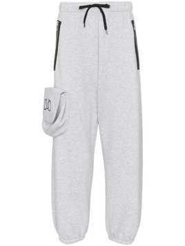 Duo logo pocket sweatpants - Grey
