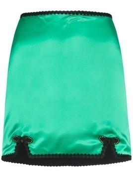 De La Vali Sofia mini skirt - Green