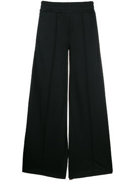 Palm Angels palazzo track trousers - Black