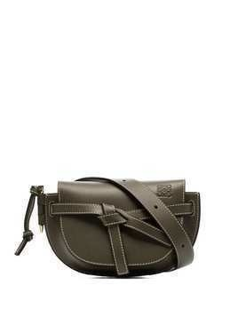 Loewe mini Gate belt bag - Green