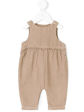 Knot corduroy overalls - Nude & Neutrals