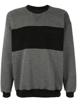 Astrid Andersen chunky jersey sweater - Grey