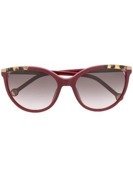 Ch Carolina Herrera cat eye sunglasses - Red