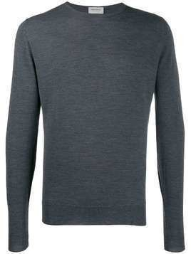 John Smedley Lundy crew neck sweater - Grey