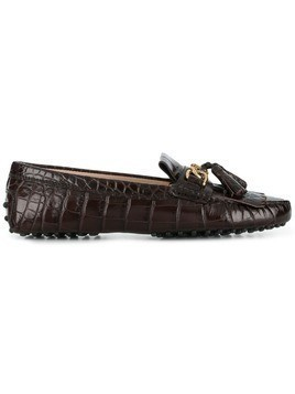 Tod's Gommino loafers - Brown