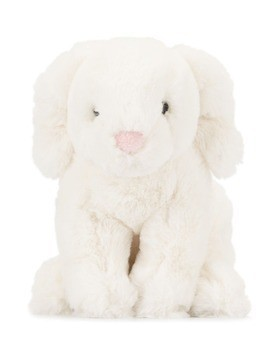 Jellycat Puppy soft toy - White