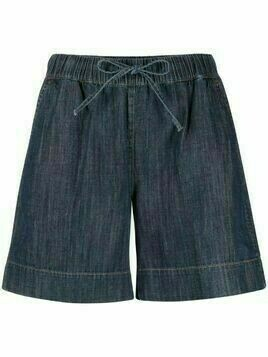 P.A.R.O.S.H. Chambray shorts - Blue