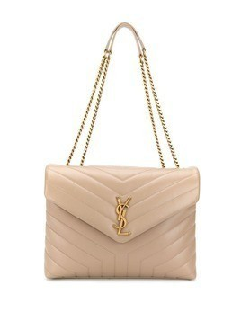 Saint Laurent medium Loulou shoulder bag - Neutrals