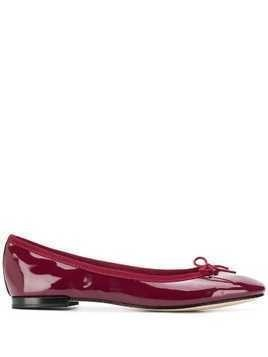Repetto bow detail ballerina shoes - Red