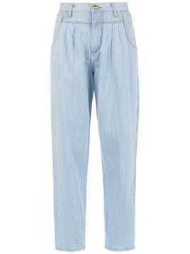 Amapô Ice cropped jeans - Blue