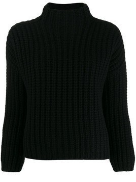 Incentive! Cashmere relaxed jumper - Black