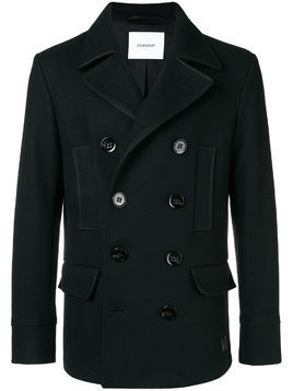 Dondup double breasted peacoat - Black
