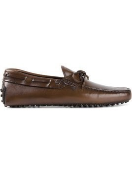 Tod's 'Gommino' driving shoes - Brown