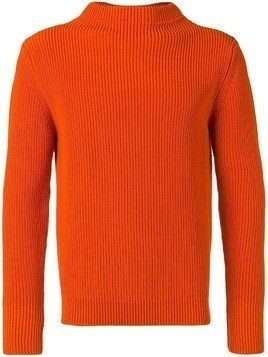 Andersen-Andersen ribbed crew neck jumper - Orange