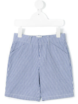 Carrèment Beau striped shorts - White