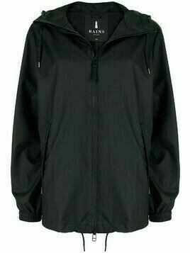 Rains Storm Breaker hooded raincoat - Black