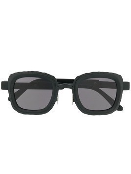 Kuboraum oversized square sunglasses - Black