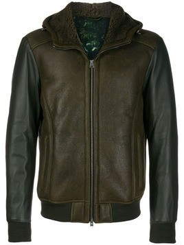 Etro faux leather jacket - Green
