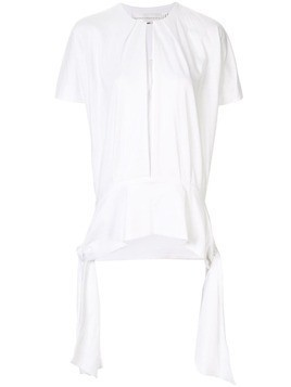 Victoria Victoria Beckham draped-side top - White