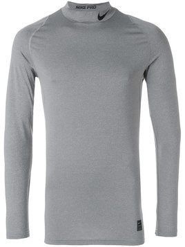 Nike Pro long-sleeve top - Grey