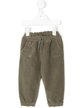 De Cavana Kids elasticated waist trousers - Grey
