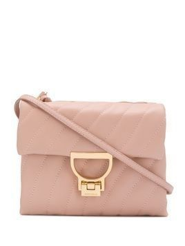 Coccinelle quilted mini bag - PINK