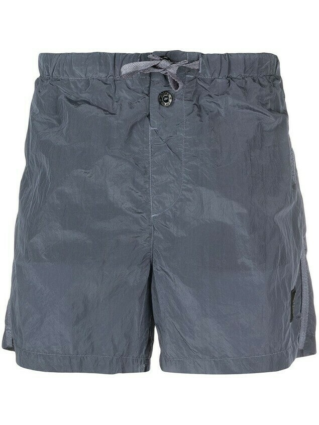 Stone Island drawstring swimming shorts - Blue