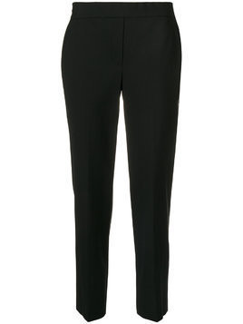 Theory cropped tapered trousers - Black