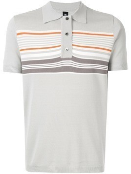 Astrid Andersen classic polo with stripes - Grey